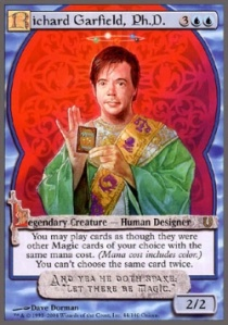 Richard Garfield: The Steve Jobs of card games.